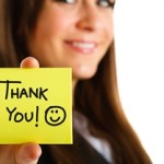 Maximising the Thank You